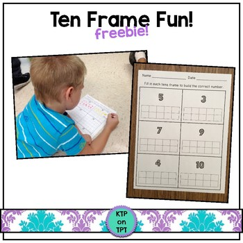 Ten Frame Freebie!