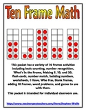 Ten Frame Math Packet