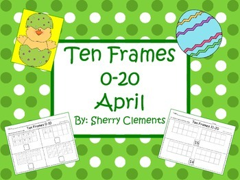Ten Frames 0-20 April (Common Core)