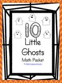 Ten Little Ghosts Math Pack