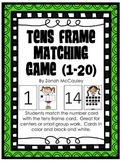 Tens Frame Matching Game
