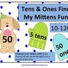 Tens and Ones Find My Mittens Fun! (Common Core Aligned)