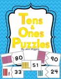 Tens and Ones Puzzles ~ Plus Follow Up Activities