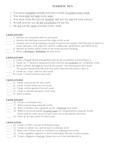 Terrific Ten - Vocabulary Menu Activities