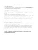 Test Correction Journal