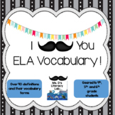 ELA Test Prep-Vocabulary