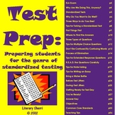 Test Prep: Preparing Students for the Genre of Standardize