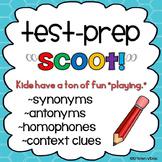 "Test Prep ""Scoot!"": Synonyms, Antonyms, Homophones & Conte"