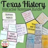 Texas History Notebook Bundle
