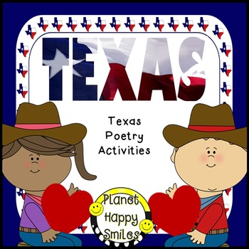 Texas Poem and Activities ~ T-E-X-A-S