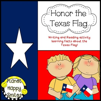 Texas Writing Activity ~ Texas Flag Facts