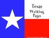Texas Writing Packet