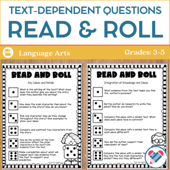 Text-Dependent Questions: Read and Roll!