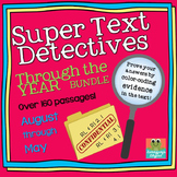 Text Detectives- Find the Text Evidence Through the Year B