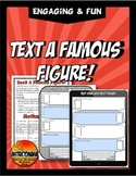 Text Message a Famous Figure with New Giant Phone Template