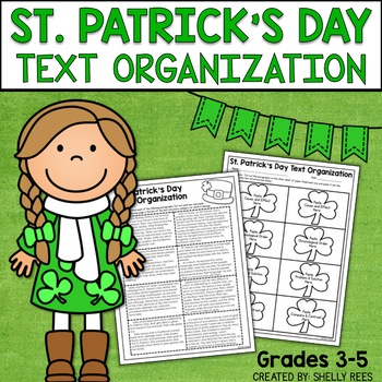 Text Organization and Structure:  A St. Patrick's Day Activity for Grades 3-6