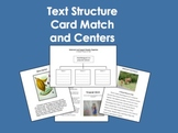 Text Structure Card Match and Centers