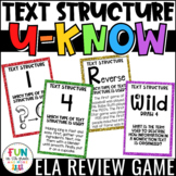 Text Structure Game