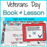Thank You Veteran Printable Book
