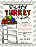 Thankful Turkey Craftivity