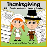 Thanksgiving Bundle for Third Grade Endless