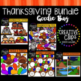 Thanksgiving Goodie Bag Bundle {Creative Clips Digital Clipart}