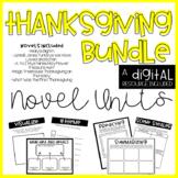 Thanksgiving Novel Unit BUNDLE