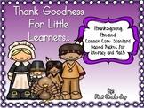 Thanksgiving Literacy Poem Packet