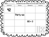 Thanksgiving Math Centers and Literacy Activites