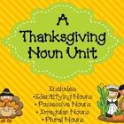 Thanksgiving Nouns Unit