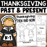 Thanksgiving:  Past & Present  {Activities and Assessments