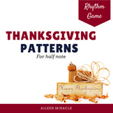Thanksgiving Patterns {Half Note}