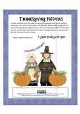 Thanksgiving Patterns Pack