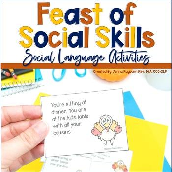 Thanksgiving Pragmatics: Holiday Social Skills for Speech Therapy