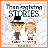 Thanksgiving Reading Passages - Close Reading