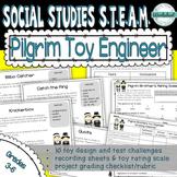 Thanksgiving STEAM: Pilgrim Toy Engineers