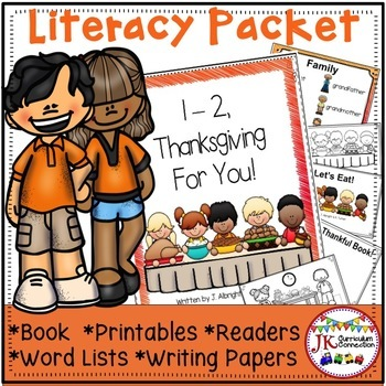 Thanksgiving Poem - 1-2, Thanksgiving For You! {CCSS}