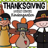 Thanksgiving Literacy Center for Kindergarten and First Grade