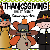 Thanksgiving Literacy Center for Kindergarten and First Grade