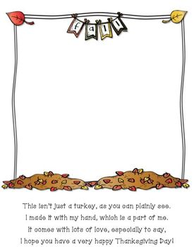 Thanksgiving Turkey (handprint activity)