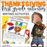 Thanksgiving Writing for Firsties