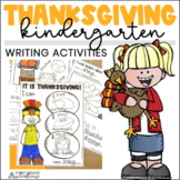 Thanksgiving Writing for Kinders