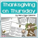Thanksgiving on Thursday - Magic Tree House Common Core Bo