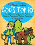 The 10 Commandments for Kids (Song, Posters, Student Pages
