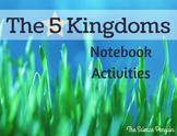 The 5 Kingdoms Notebook Activities