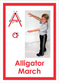 The ABC's of Movement educational activity cards