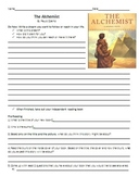 The Alchemist Reading Guide and Chapter Comprehension Questions