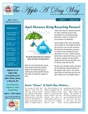 The Apple A Day Way April Newsletter:  April Showers Bring