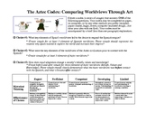 The Aztec Codex: Comparing Worldviews through art