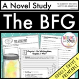 The BFG by Roald Dahl-Literature Unit/Novel Study